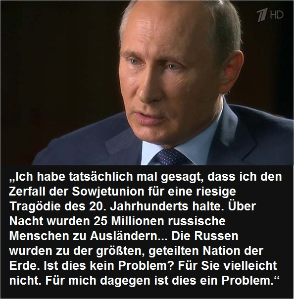 Wladimir Putin Zitate